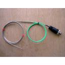 Termopar encamisado salida cable